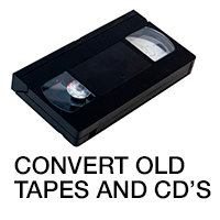 Convert your old tapes and CDs